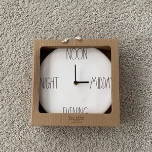 Rae Dunn clock
